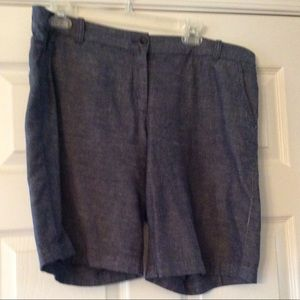 J Crew Bermuda Shorts Size 12